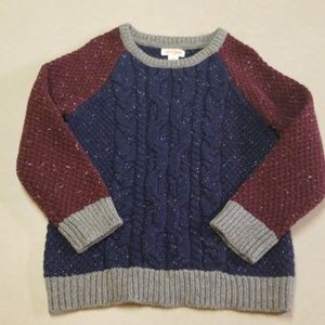 Toddler knit sweater 4T